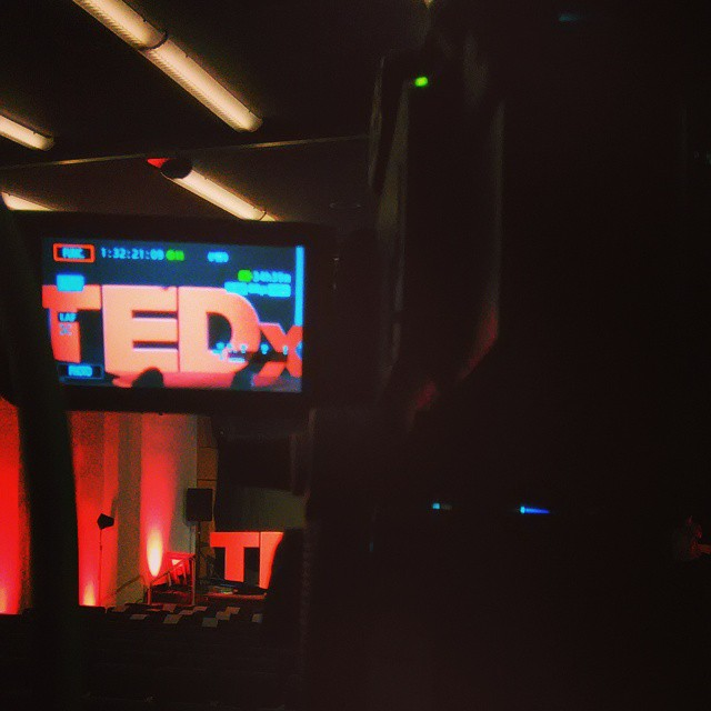 Filming at TedX recently #instalike #instagood #picoftheday #movie #filmsbylouispetit #awesome #tedx #fun