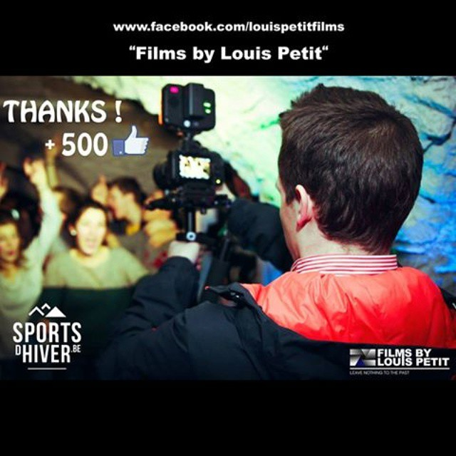 Thanks for the 500 likes on my facebook page ! #aftermovie #thanks #likes #filmsbylouispetit #bestoftheday #instacool #swag #instagood #awesome #viral #buzz #followme #style